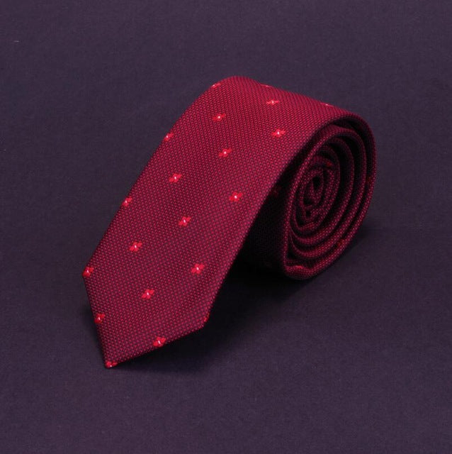 New Man Fashion Dot Neckties