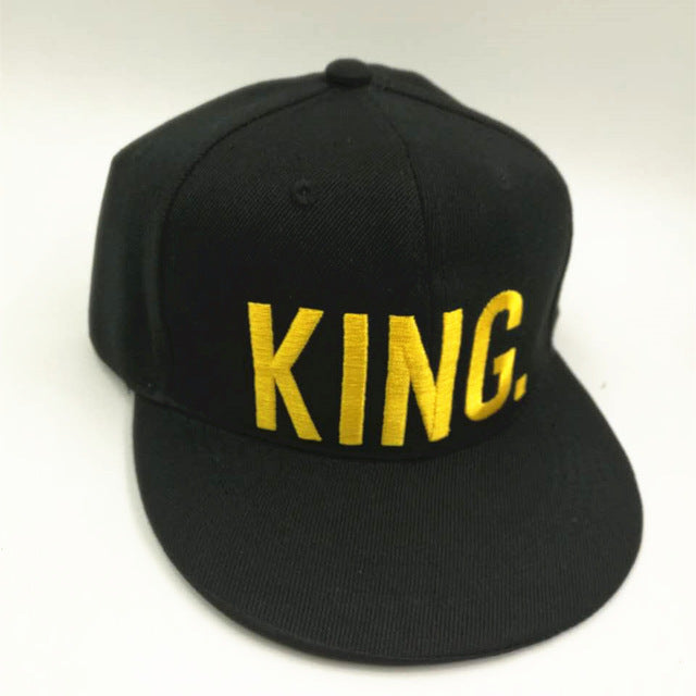 KING QUEEN Snapback Cap