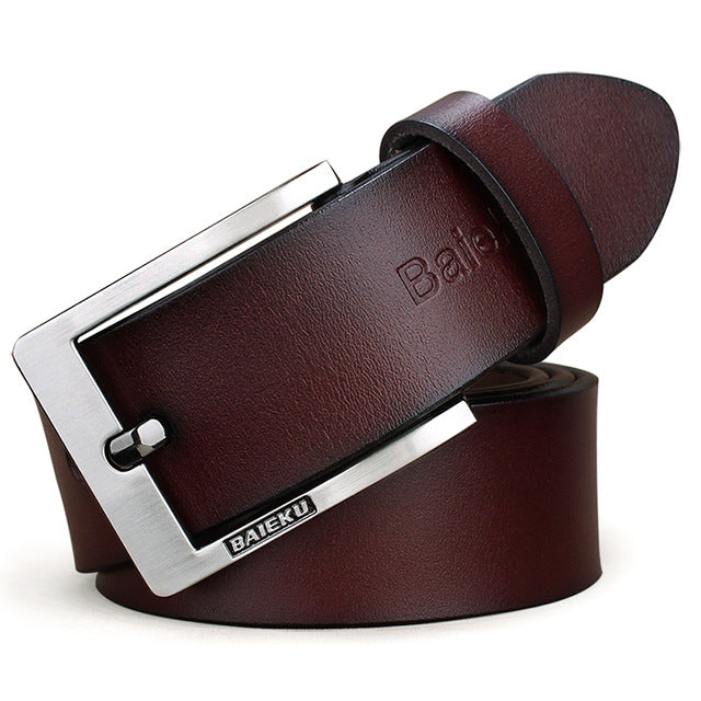 Genuine Cowhide Leather Belt