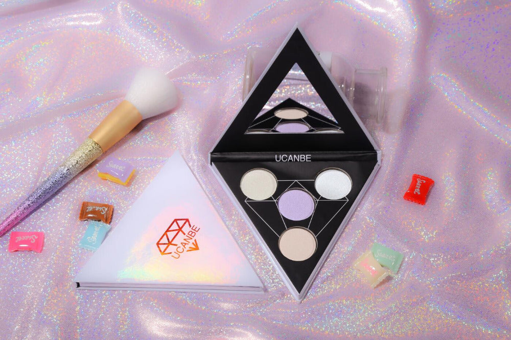 Triangle Glitter  Holographic Shade