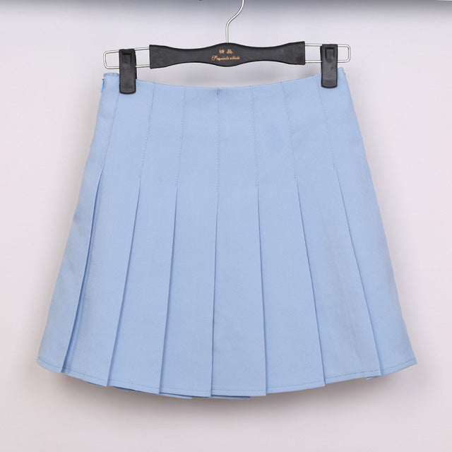 Lolita Denim Pleated - GaGodeal