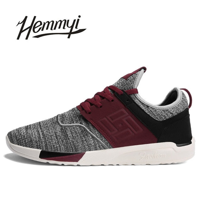Men Sneakers Shoes Breathable Wear-resistant Casual Light mesh