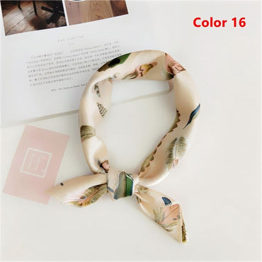 Popular Sale!!! New Elegant Women Square Silk Scarf. Best Gift For Girlfriend. Gift For Women
