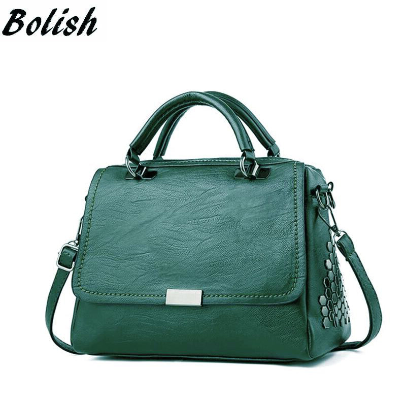Bolish Casual Women Soft Pu - GaGodeal