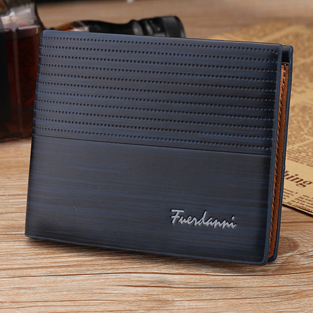 2018 New Fashion Men Leather Wallet