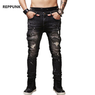 High Quality Zipper Jeans - GaGodeal