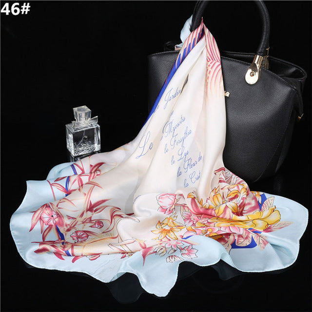 Scarf Imitated Silk Scarves