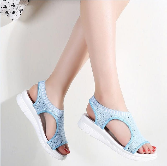 New platform sandal shoes