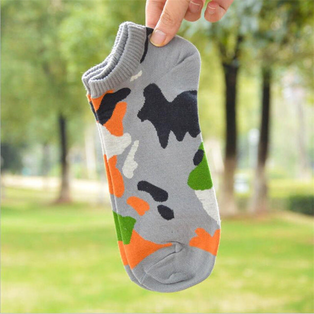 Hot sale! men cotton art socks