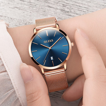 Brand Luxury Women Watches Waterproof Rose - GaGodeal