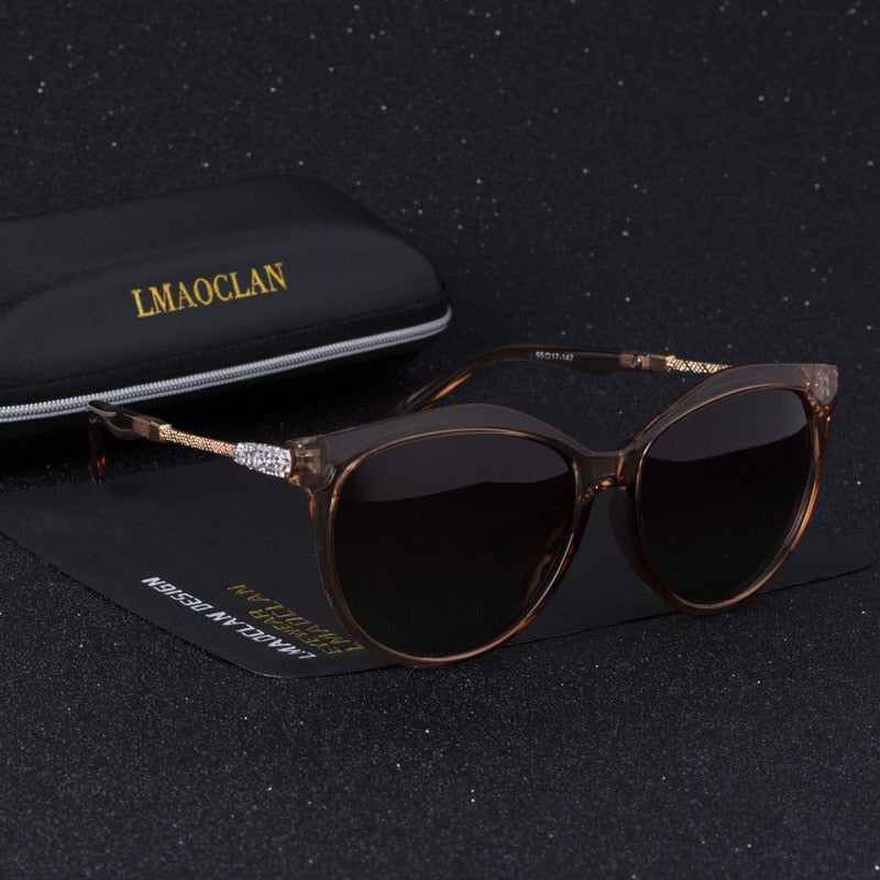 New Brand Luxury Design HD Polarized Sunglasses Women