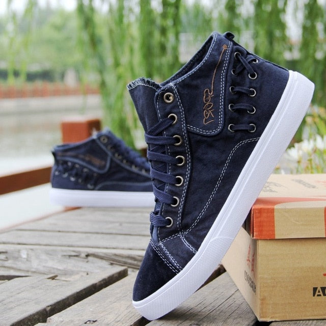 Denim  Casual Shoes Breathable Canvas