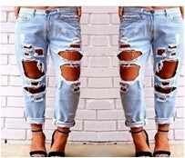 Hight Waist Distressed - GaGodeal