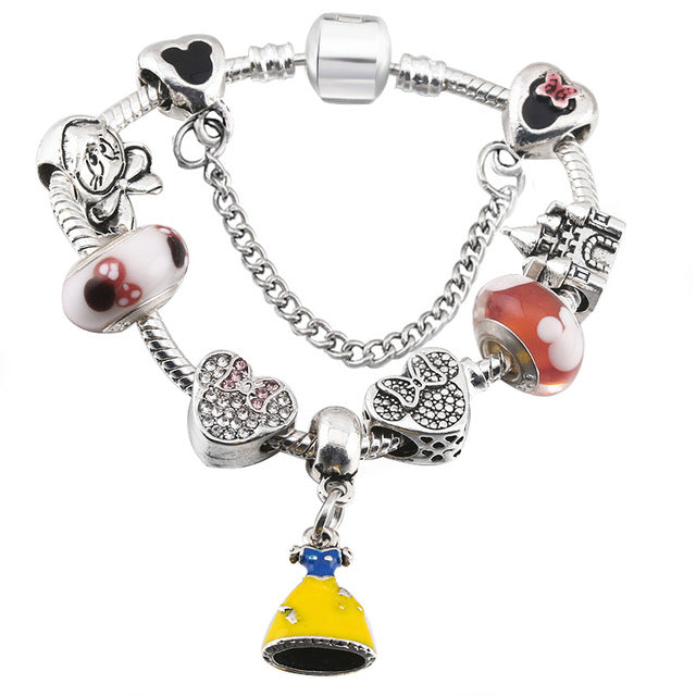 Mickey Enamel Beads - GaGodeal