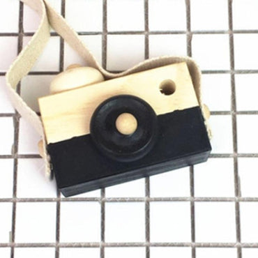 Colorful Wooden Camera Toy