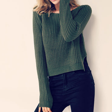 Autumn winter women sweaters and pullovers korean style long sleeve