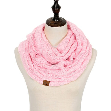 Hot Trendy Knitted Scarf For Women. Best Gift For Her. Gift For Girlfriend