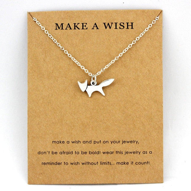 Cute Animals Shaped Trendy Fashion Women Necklace