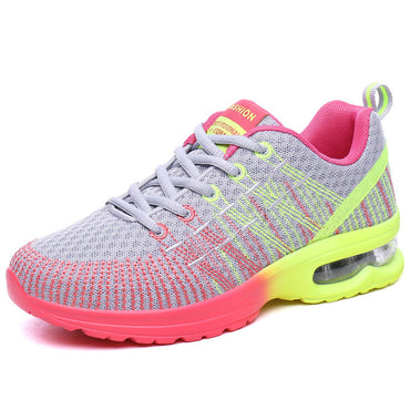Best Seller Women Fashion Breathable Hollow Lace-Up Sneakers