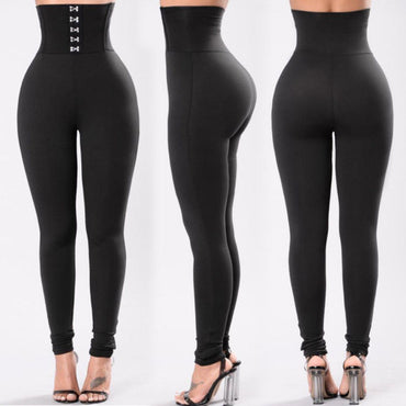 New Style Fashion Women Solid Fitness Leggings
