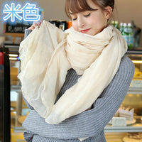 Luxury Linen And Cotton Fashion Scarf For Women. Best Gift For Girlfriend. Gift For Women