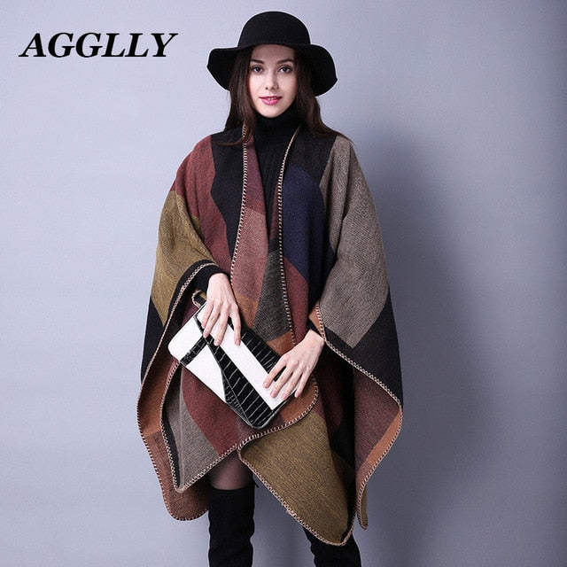 Trendy Fashion Luxury Design Women Scarf. Best Gift For Girlfriend or Mom