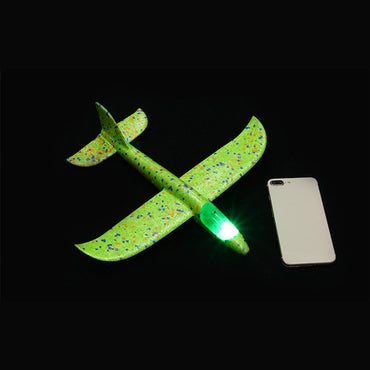 Glow In The Dark Hand Throw Flying Glider Plane
