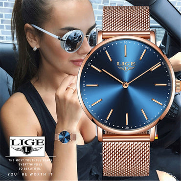 New Fashion Luxury Women Waterproof Quartz Watch
