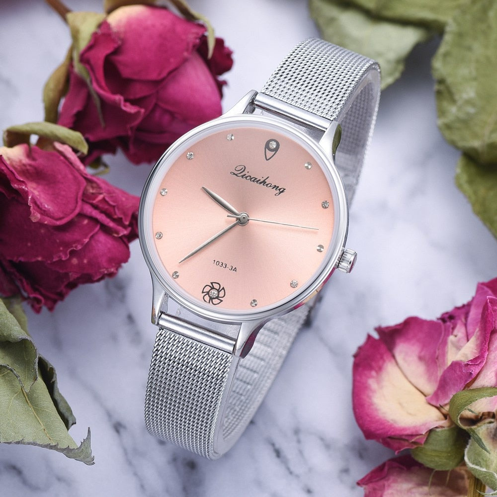 Luxury Elegant Fashion Women Dress Watch