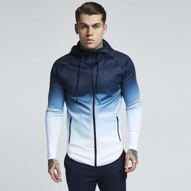 Zipper Casual Tracksuit Pocket