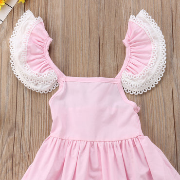 Toddler Girls Sleeveless Tutu Party Tull Princess Dress