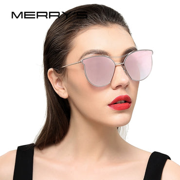 Fashion Classic Design Twin Beam Metal Frame women sunglasses
