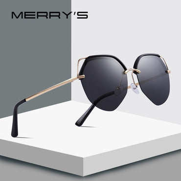 Women Luxury Cat Eye Polarized Sunglasses