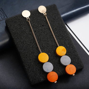 Vintage Retro Long Hanging Earrings