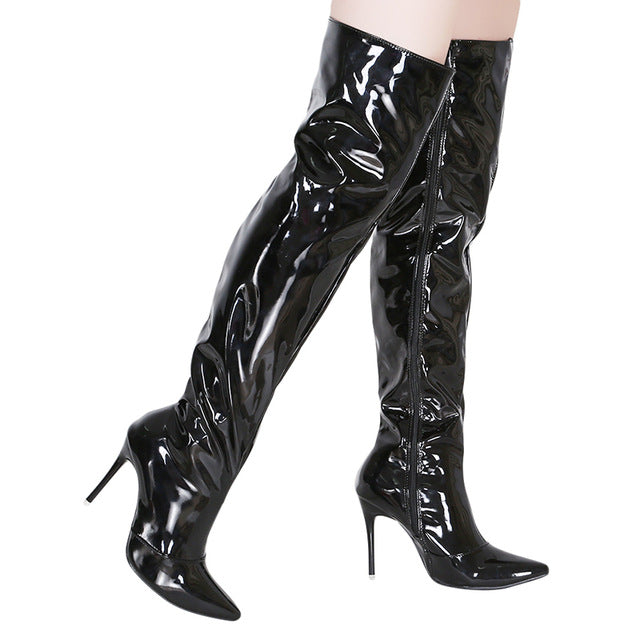 Heels Over The Knee Long Boots For Women