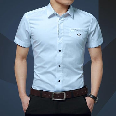 Summer New Men's Shirt Brand Luxury