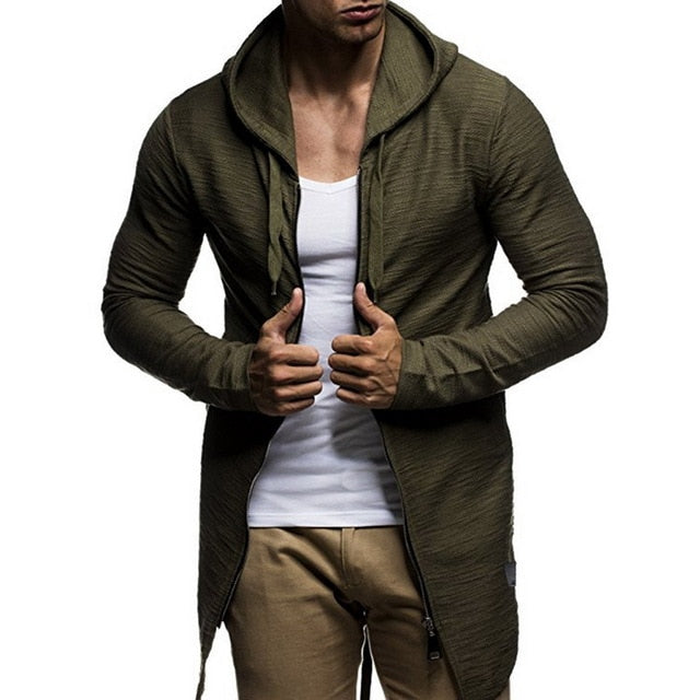 Camouflage Hooded Men Sweatshirt