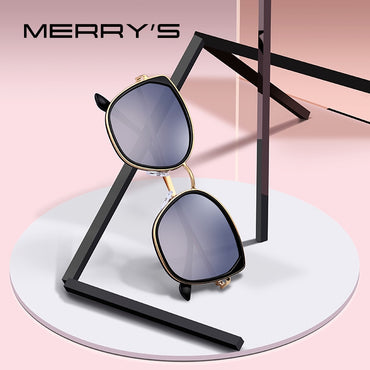 Luxury Fashion Cat Eye Polarized Sunglasses UV400 Protection