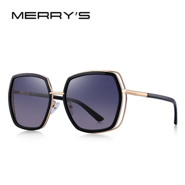 Women Fashion Square Polarized Sunglasses Luxury Brand Trending