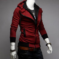 New Autumn Winter Men's Jacket Male Color Matching