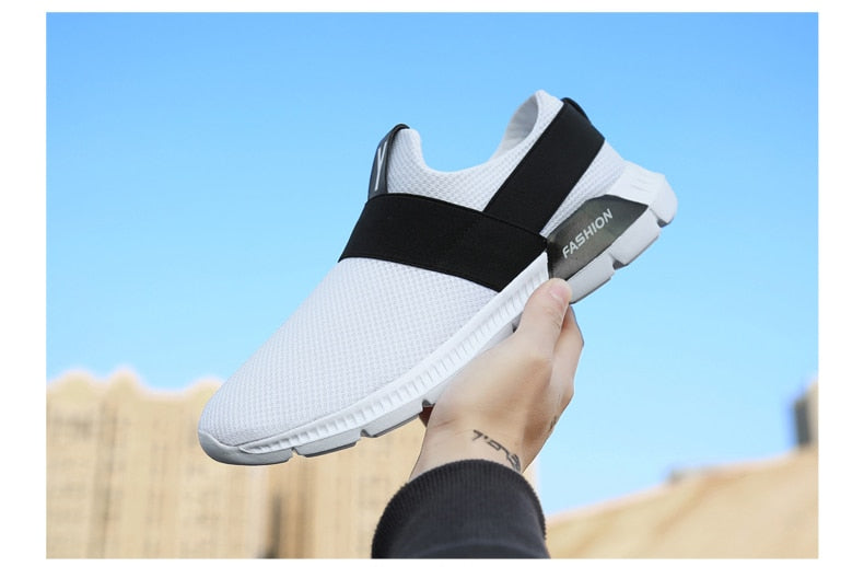 Casual Summer Male Breathable Trainers Light Slip Shoes