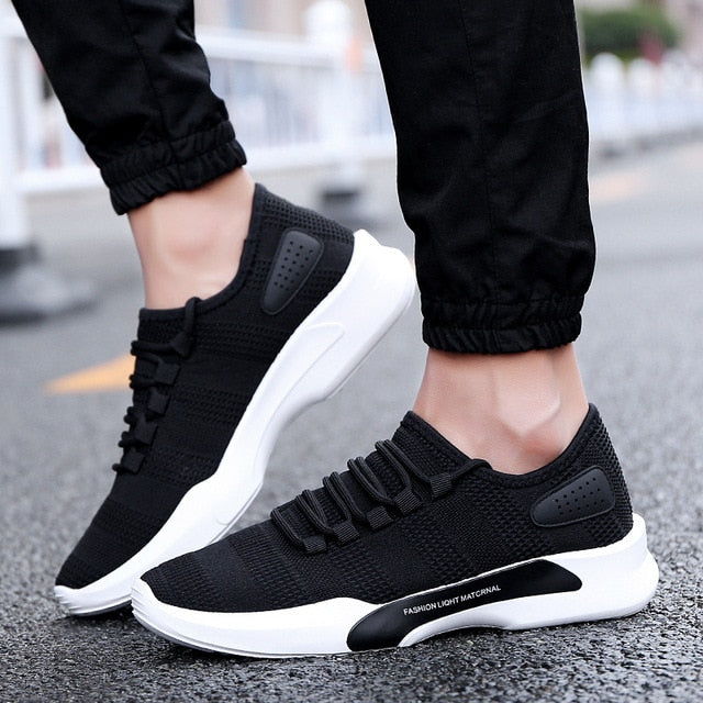 Slip-On Men Sneakers Breathable Trainers