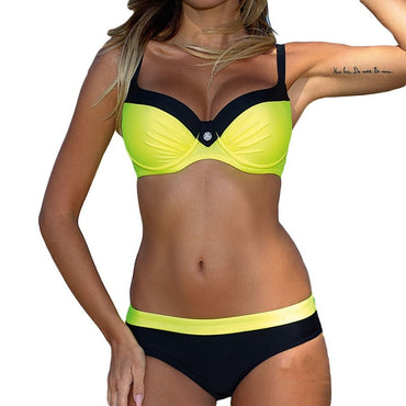 New Sexy Bikinis Set Push Up Swimwear Women