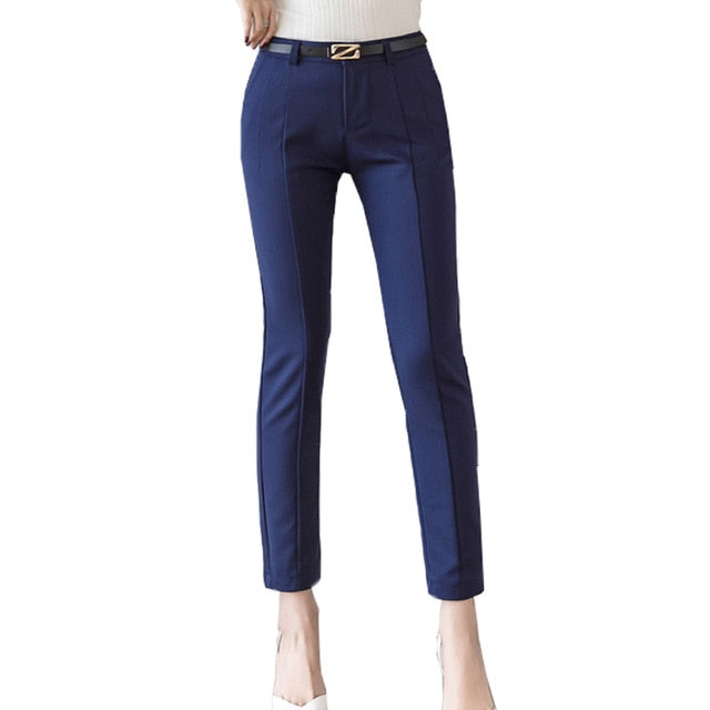 Trousers Women New  Ankle-length Capris Female