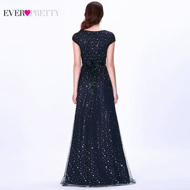 Prom Dress Ever Pretty Elegant Sleeveless Lace Appliques Embroidery Party Dress