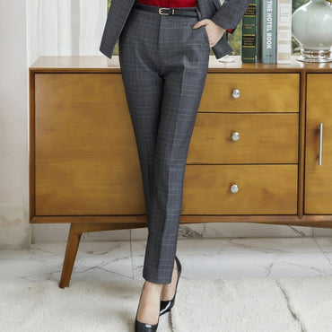 Professional Pants women Gray Brown New fashion work business