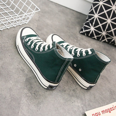 Women's Casual Shoes High Top Lace Up Fashion Sneakers