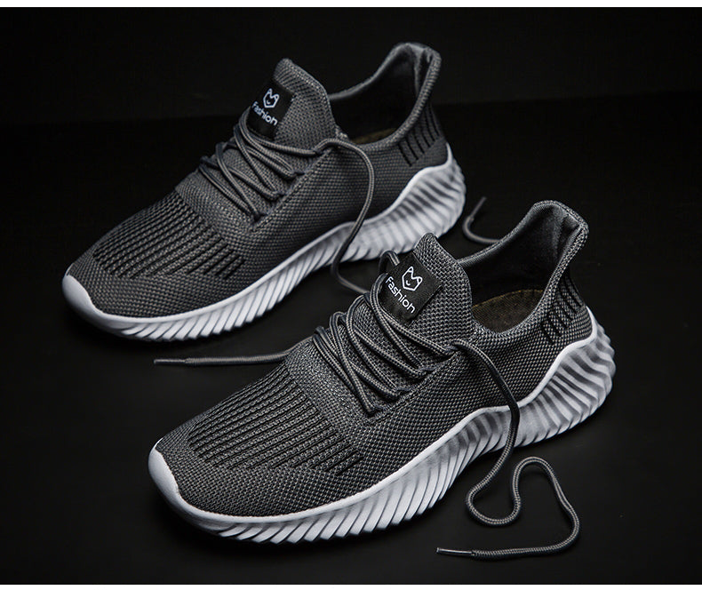 Breathable Casual Male Footwear Light