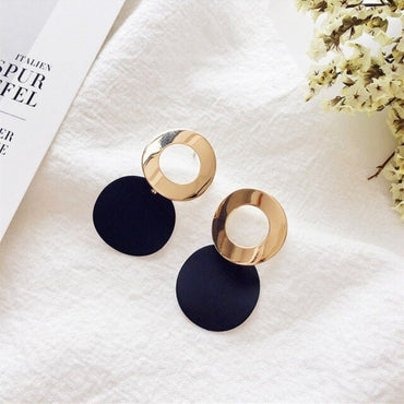 Vintage Gold Stud Earrings for Women
