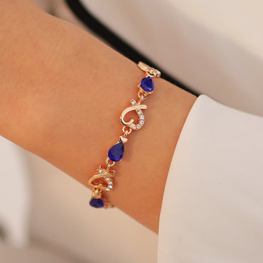 New 5 Colors Beautiful Bracelet for Women Colorful Austrian Crystal Fashion